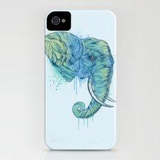Elephant Portrait iPhone (4, 4s) Slim Case