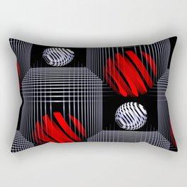 3D - abstraction -81- Rectangular Pillow