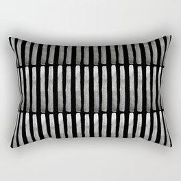Blacksticks Matchsticks Rectangular Pillow