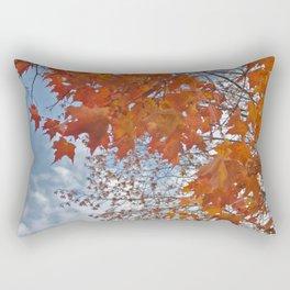 Fall Tree Photography Print Rectangular Pillow