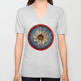 The Celestial Circle of Life Unisex V-Neck