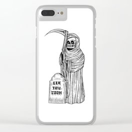 see you soon Clear iPhone Case