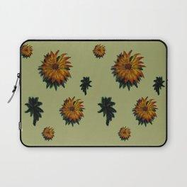 Flores y Hojas Laptop Sleeve