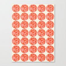 Tri Dots 2 Canvas Print