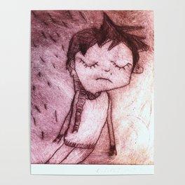 Miguel,  grabado Poster