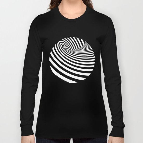 Dizzy lines - Optical game 16 Long Sleeve T-shirt