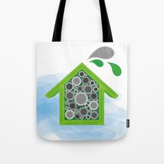 Solitary Bee Hotel Tote Bag