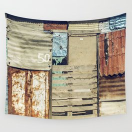 arquitectura de crisis Wall Tapestry