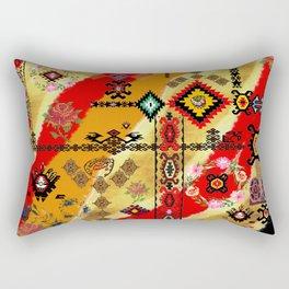old collage Rectangular Pillow