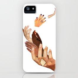 Shrug iPhone Case