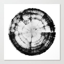 Pain Emotion (HATE IN-SITU) [Square] Canvas Print