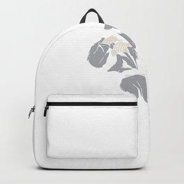 Martial Arts Jiu Jitsu Clothing Rolling with My Homies Backpack