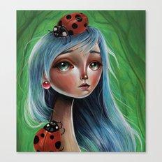 The Lady Bug Canvas Print