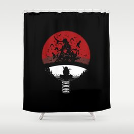 Uchiha Clan v2 Shower Curtain