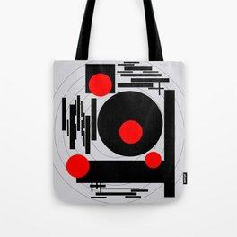 Optical Red Tote Bag