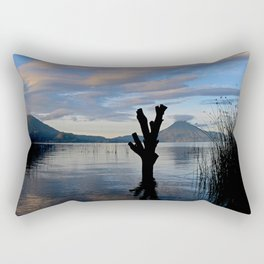 Sunrise at Lago Atitlan,Guatemala Rectangular Pillow