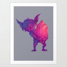 mega sableye Art Print