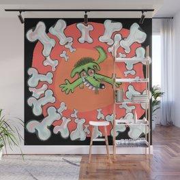 dog bones Wall Mural