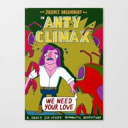 Anty Climax Canvas Print