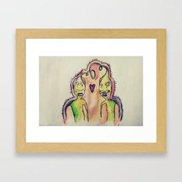 monsters number two  Framed Art Print