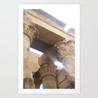 egypt Art Prints featuring Egypt by Carissa W.