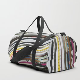 Adventure and Time - Collage Duffle Bag