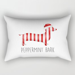 Peppermint Bark Rectangular Pillow