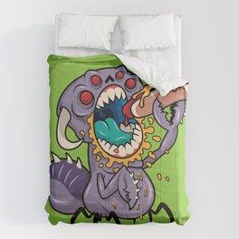 Om Nom Alien Bug Comforters