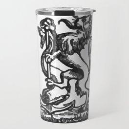 Anchor and rampant lion. Travel Mug