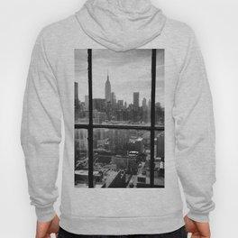 i love NY black and white Hoody