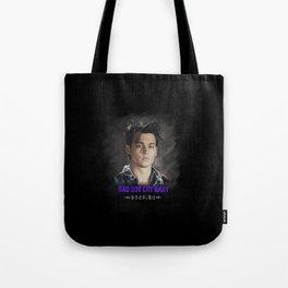 Bad Boy Cry Baby Tote Bag