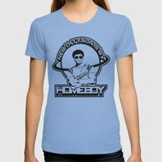 Neil Degrasse Tyson is my Homeboy Tri-Blue X-LARGE Womens Fitted Tee