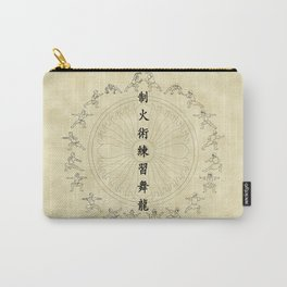 The Dancing Dragon II Carry-All Pouch