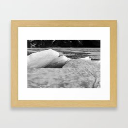 Spring Ice Two Framed Art Print