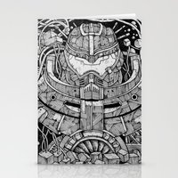 pacific rim Stationery Cards featuring Pacific Rim by Walid Aziz