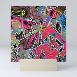 Waste not Whatnot Mini Art Print
