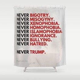 Never Trump - Political Shower Curtain