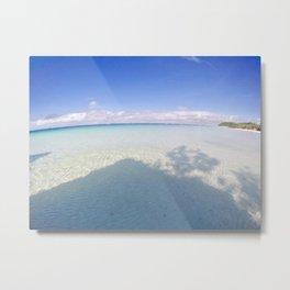 Boracay Sunshine blue Metal Print