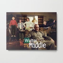 Walter In The Middle Metal Print