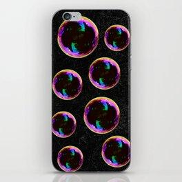 Soap Bubbles Pattern iPhone Skin