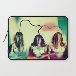 Stemmed with the mind and energy Laptop Sleeve