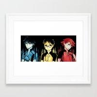 yowamushi pedal Framed Art Prints featuring yowamushi pedal by Yuuya/Amanda BR