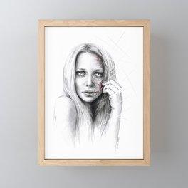 Self-destruction: expose Framed Mini Art Print