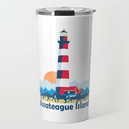 Assateague Island - Maryland. Travel Mug