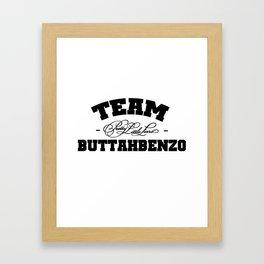 Team Buttahbenzo - Pretty Little Liars (PLL) Framed Art Print