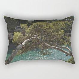 Tranquil Bay at Mallorca Island Rectangular Pillow