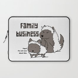 Family Business Laptop Sleeve