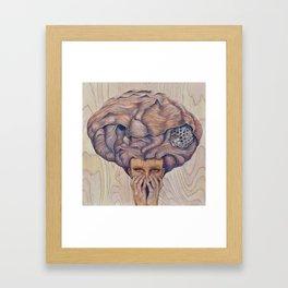 Atomic Memory Framed Art Print