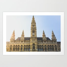 Rauthaus | Vienna Art Print