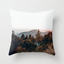Big Bear / California Throw Pillow